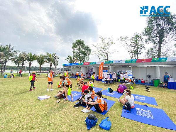 ACC đồng hành với runners tại giải chạy Ecopark Marathon 2021