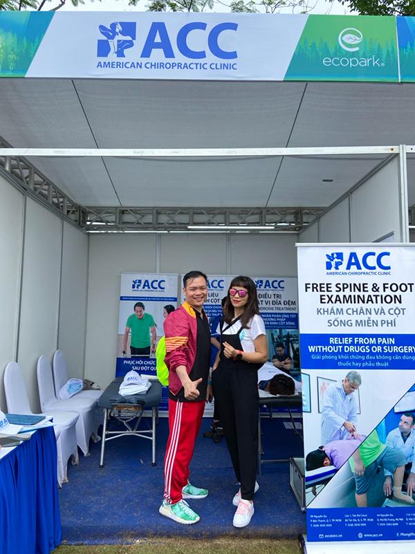 ACC hỗ trợ y tế cho runners tại giải chạy Ecopark Marathon 2021
