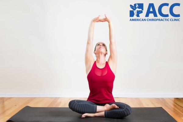 Bài tập kéo dãn thân trêngiúp cải thiệntrạng tháiđau, cứng vai gáy và lưng trên