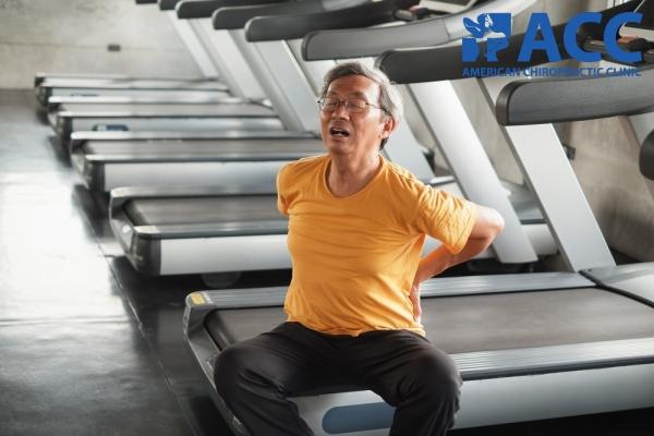 bị đau lưng do vận động sai tư thế
