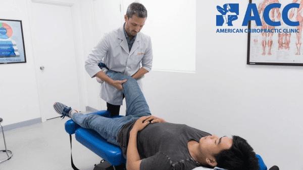 chữa đứt dây chằng đầu gối bằng phương pháp nắn chỉnh bằng tay Chiropractic