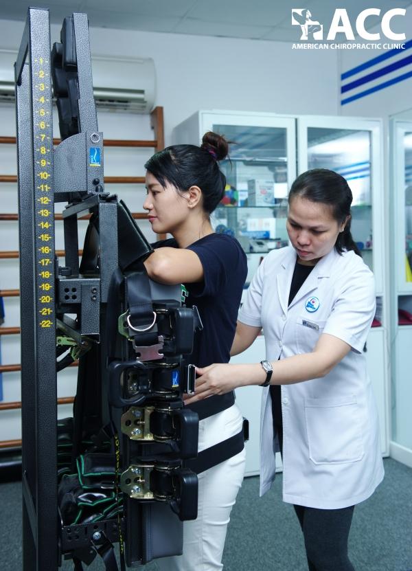 thiết bị ATM2 giúp chỉnh sửa những điểm bị sai lệch trên cột sống