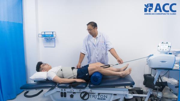 vật lý trị liệu phục hồi chức năng tại ACC