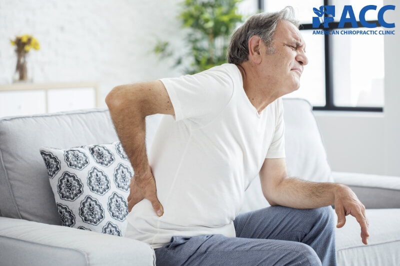 đau thắt lưng ở người lớn tuổi