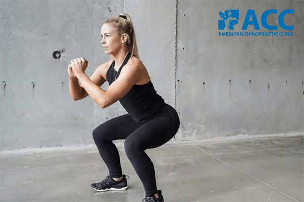 bài tập squat tăng cường sức mạnh cơ đùi