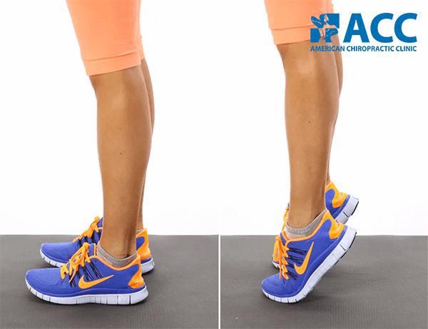 bài tập luyện cơ bắp chân