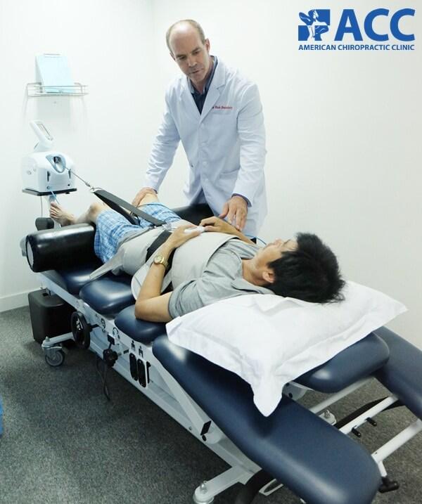 bệnh nhân đang điều trị với trị liệu DTS