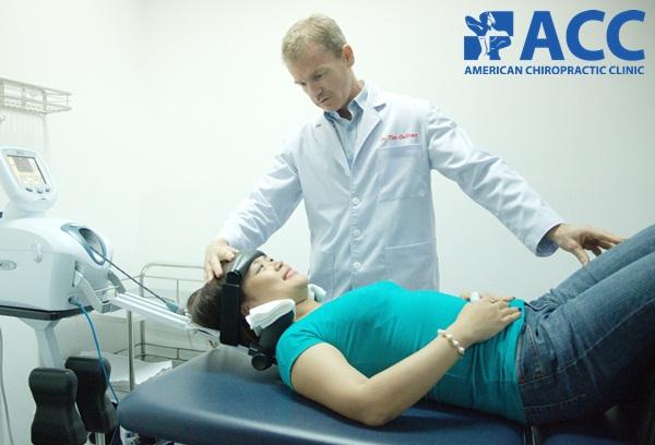trị liệu DTS chữa thoái hóa cột sống tại ACC
