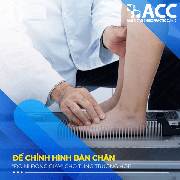 điều trị viêm khớp mắt cá chân tại ACC