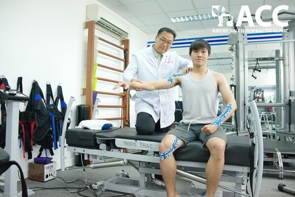 giảm đau khuỷu tay với Băng dán RockTape