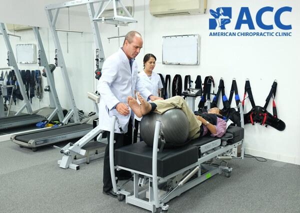 chữa đau cột sống lưng