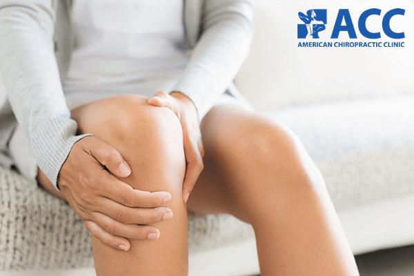 bong gân gây đau đầu gối khi tập squat
