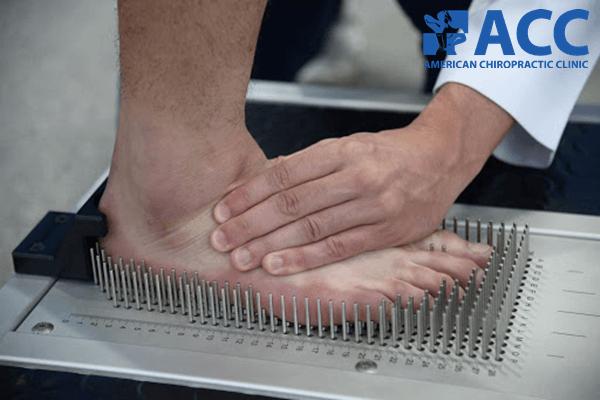 Đo mật độ bàn chân tại phòng khám ACC