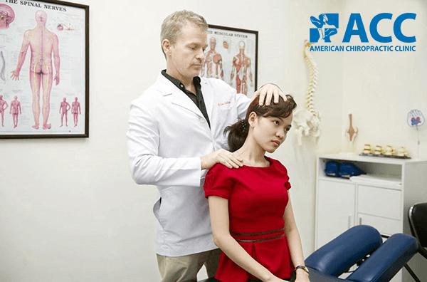 điều trị đau nửa đầu vai gáy tại phòng khám acc