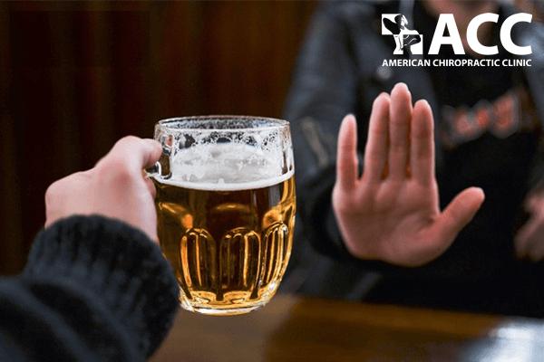rượu bia không tốt cho người bị thoát vị đĩa đệm
