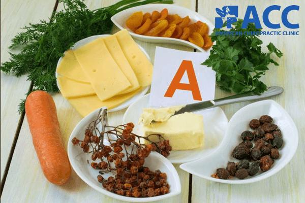 vitamin A cần thiết trong ngừa thoái hóa cột sống