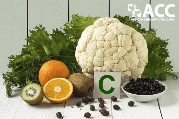 thực phẩm chứa vitamin C giúp phòng ngừa thoái hóa cột sống