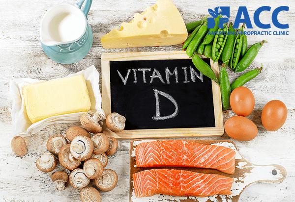 vitamin D phòng ngừa thoái hóa cột sống