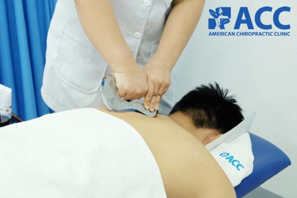 chữa đau và căng cơ