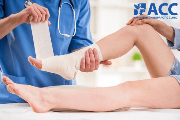 tê chân do chấn thương