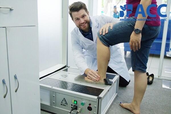 đo mật độ lòng bàn chân tại acc