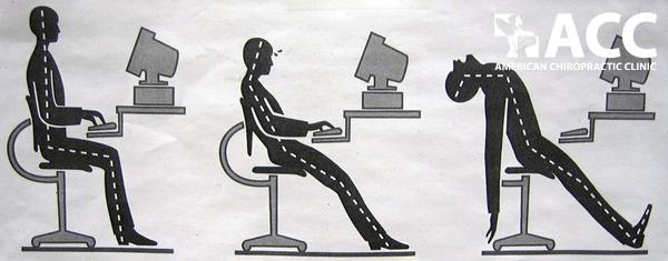 tư thế ngồi gây đau cổ