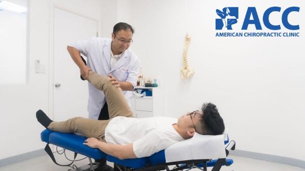 điều trị giãn dây chằng tại ACC