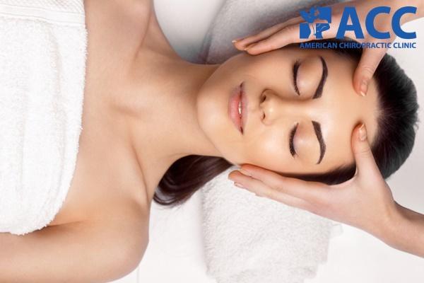 chữa đau đầu bằng phương pháp massage, xoa bóp