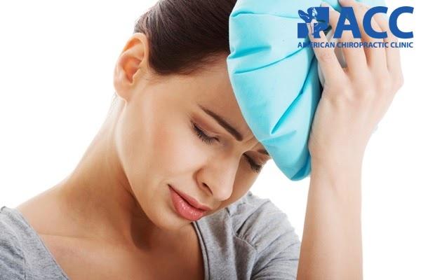 cách giảm đau đầu bằng chườm nóng hoặc lạnh