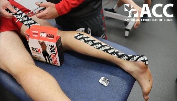 băng dán RockTape chữa chấn thương thể thao
