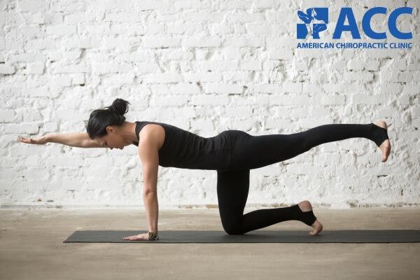 Bài tập giữ cân bằng và làm mạnh nhóm cơ lưng