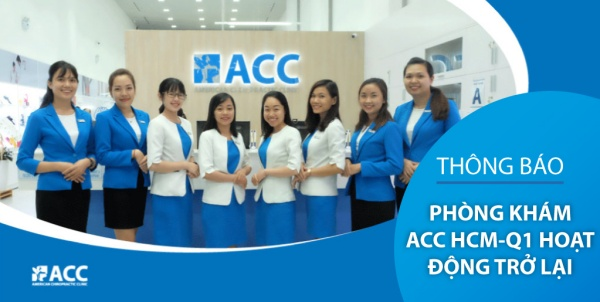 Thông báo – ACC chi nhánh HCM Q1 - 99 Nguyễn Du mở cửa trở lại!