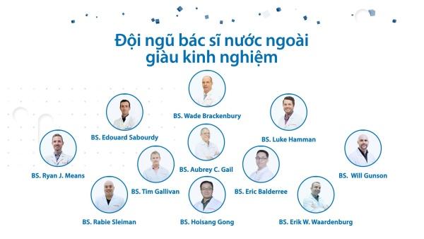 Đội ngũ bác sĩ nước ngoài ACC