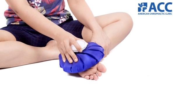 Cách trị đau gót chân tại nhà